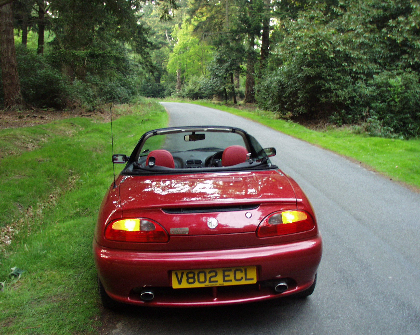 2000-05-04 Around the New Forest in a new MGF