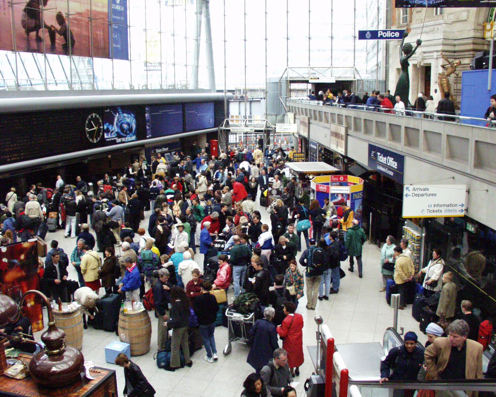 2000-05-28 To France via Eurostar