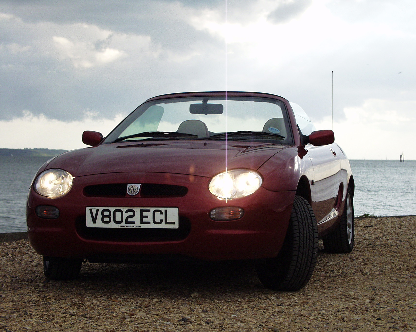 2000-06-24 MGF road trip to Lepe Beach