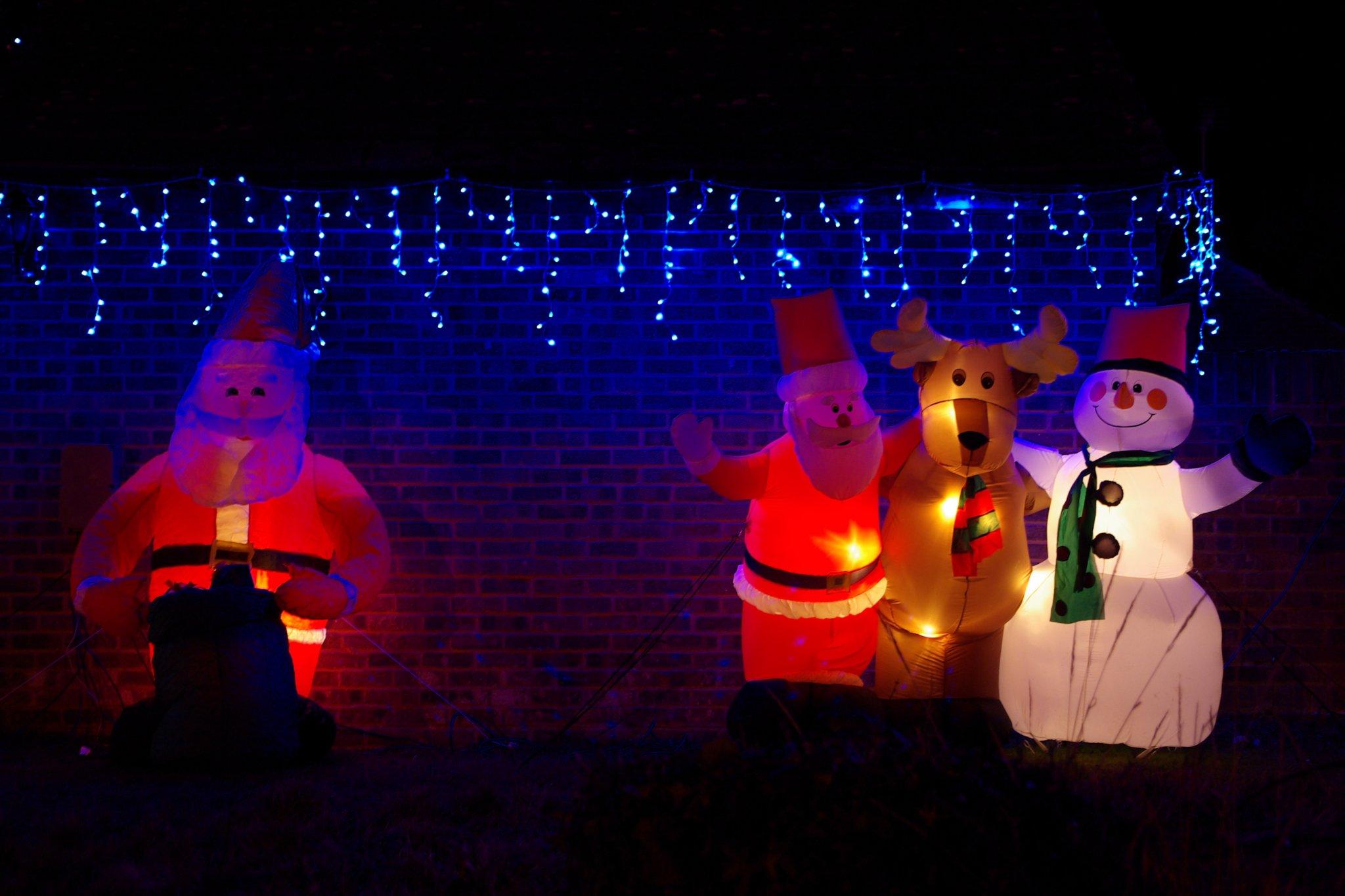 2008-12-21 Gibbsey's Christmas lights