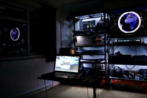 2016-09-23 My studio at night