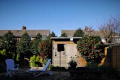 2020-03-24 Garden on first day of UK coronavirus lockdown